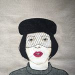 Isabella Blow (thread drawing)